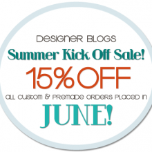Announcing: Summer Kick Off Sale!