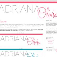 Adriana Olivia Premade