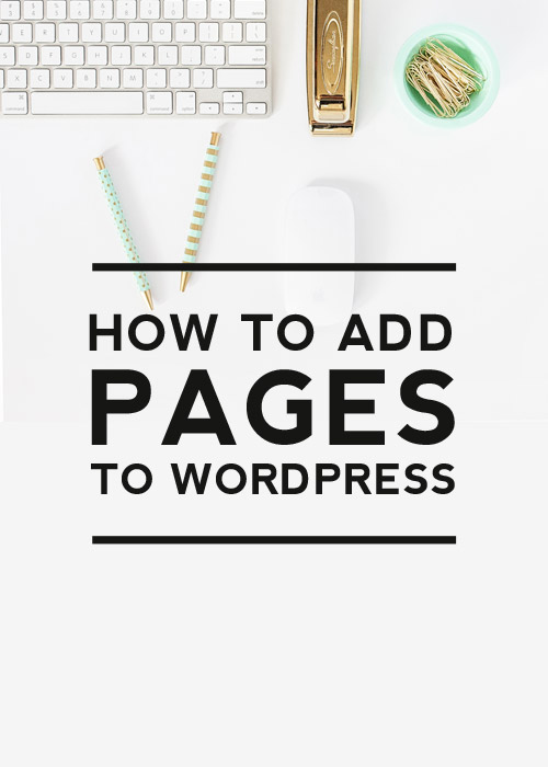 Add Pages to WordPress post cover