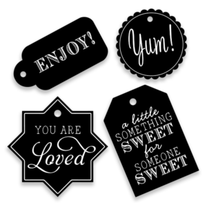 Free Black & White Gift Tags Printable For Every Occasion!