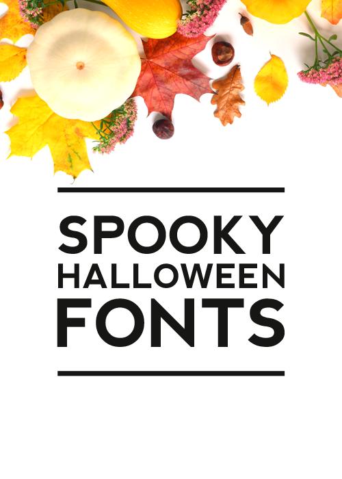 spooky halloween fonts