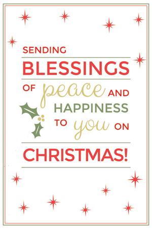 free christmas postcard