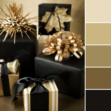 Color Love | Black & Gold