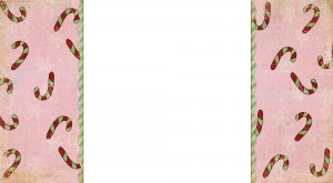 Candy Canes - Free Christmas Blogger Background