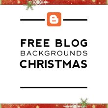 Free Christmas Blog Backgrounds
