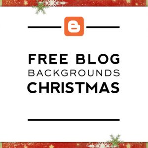 Free Christmas Blogger Backgrounds
