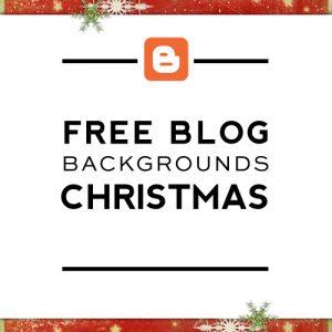 Free Christmas Blog Backgrounds