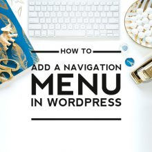How to Add a Navigation Menu to Genesis WordPress Template