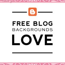 Free Valentine's Blog Backgrounds