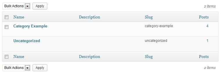 Blog Category List