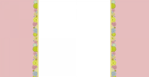 Free Spring Blogger Background in Pretty pastels