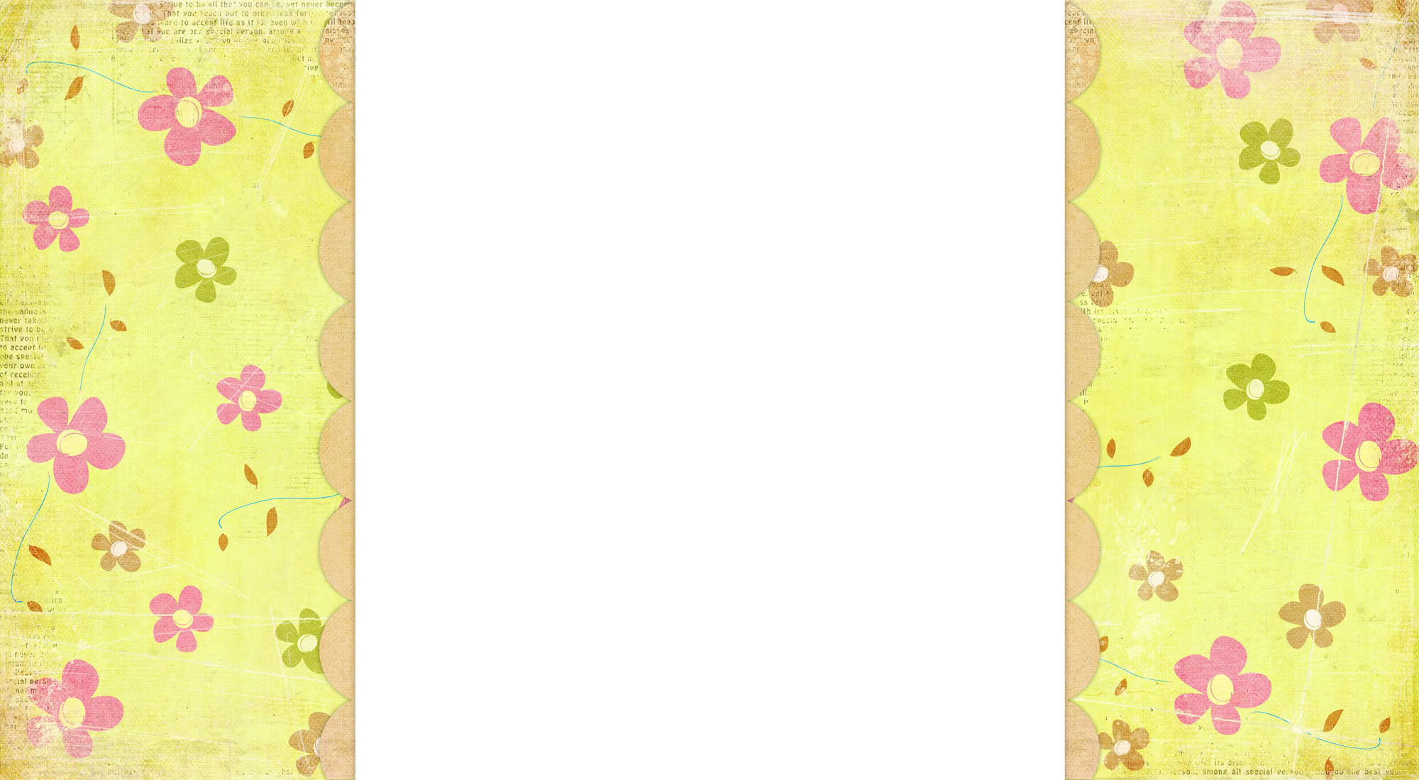 Easter Basket Free Blog Background