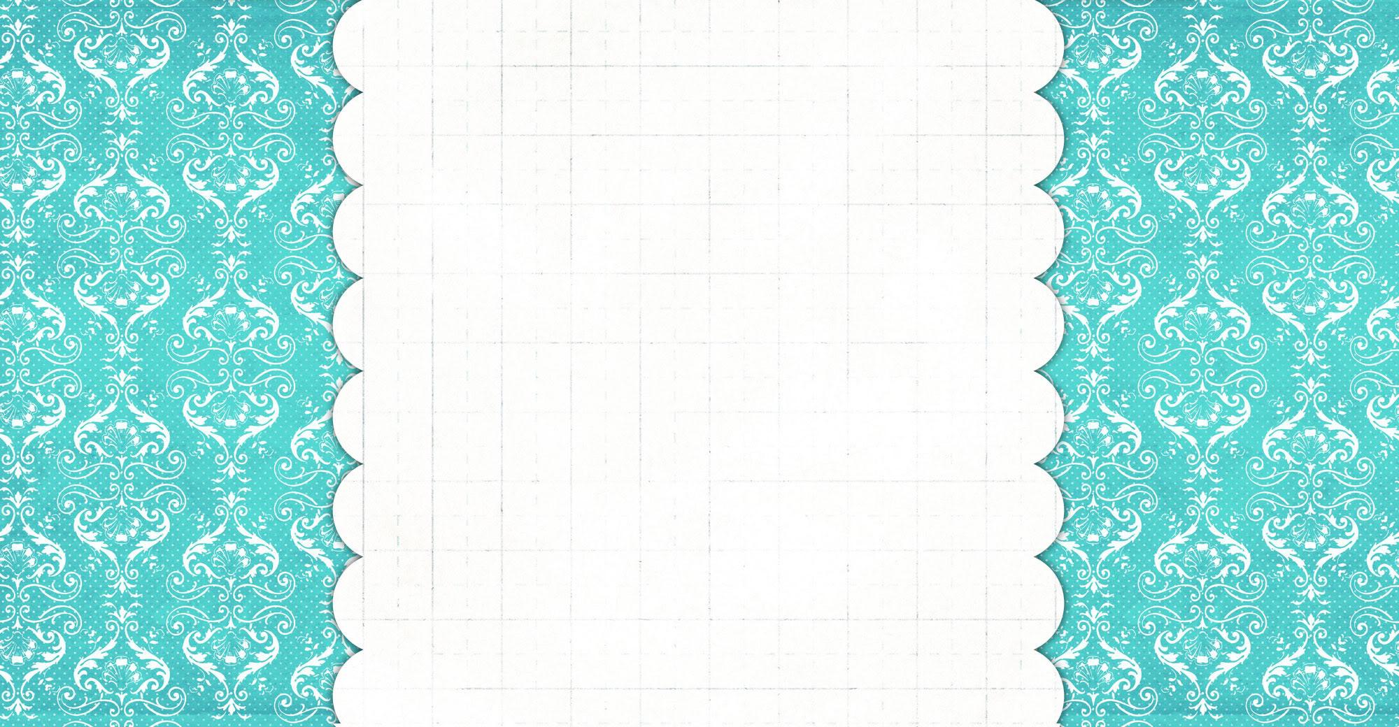 Damask Blue Free Blog Background