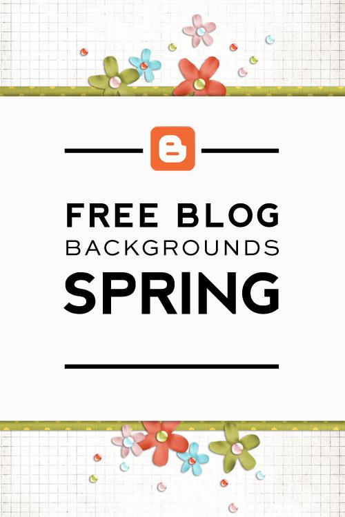 Free Easter & Spring Blogger Backgrounds