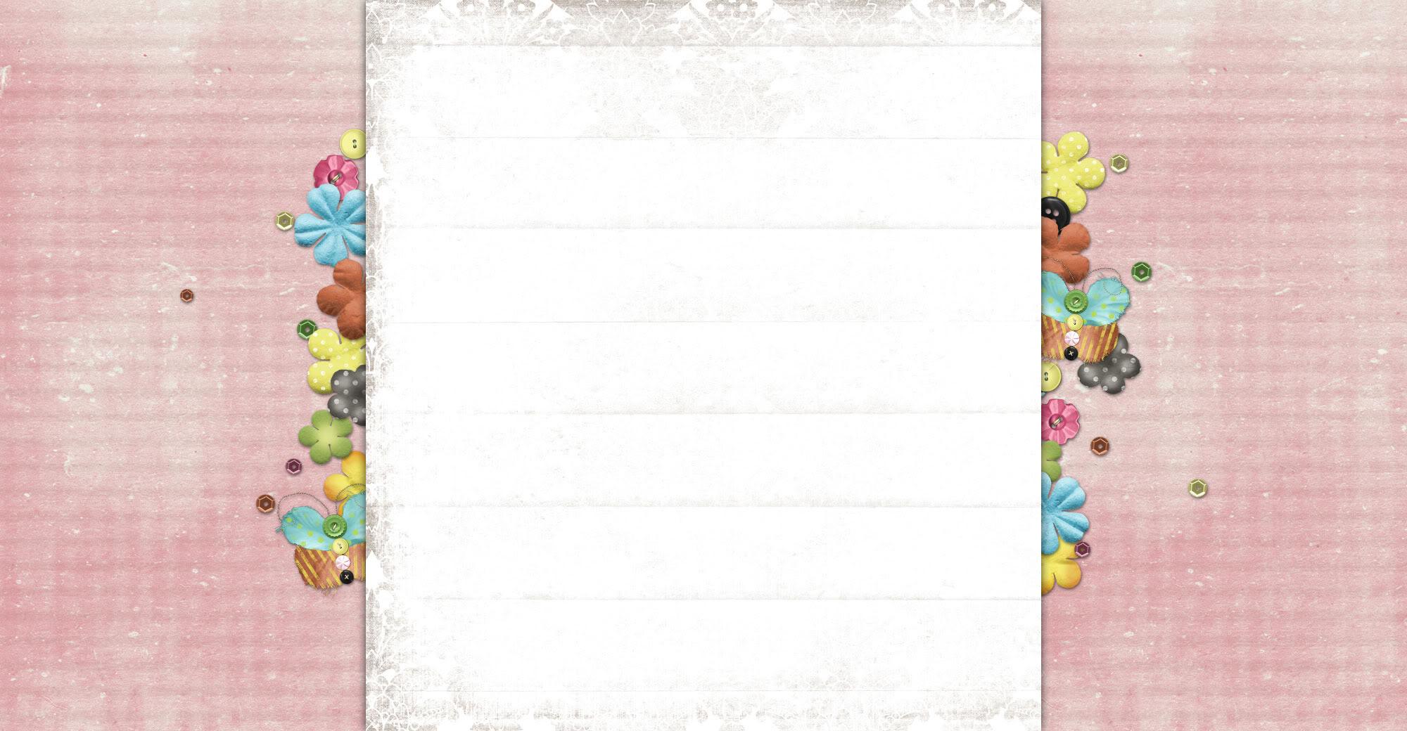 Little Girls Pocket Free Blog Background