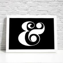 Ampersand Printable