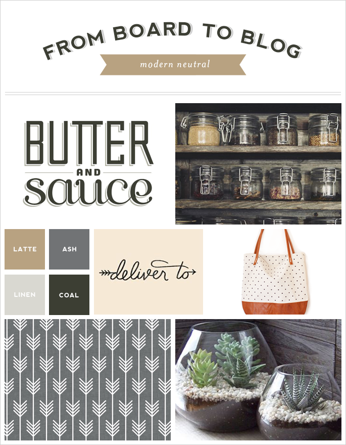 From Board to Blog | Modern Neutral