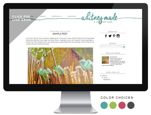 premade blog themes