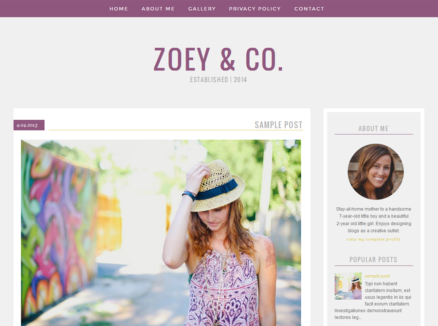 Designer Blogs zoey |erin - designer blogs