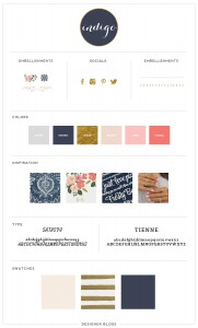 Featured Design | Indigo