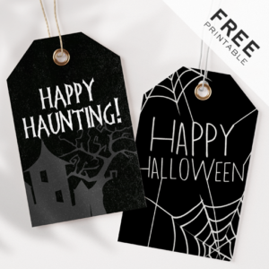 Free Halloween Tags Printable