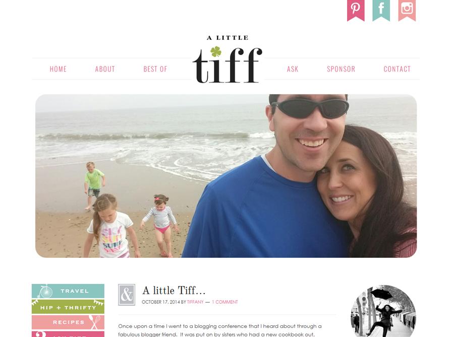 custom blog design