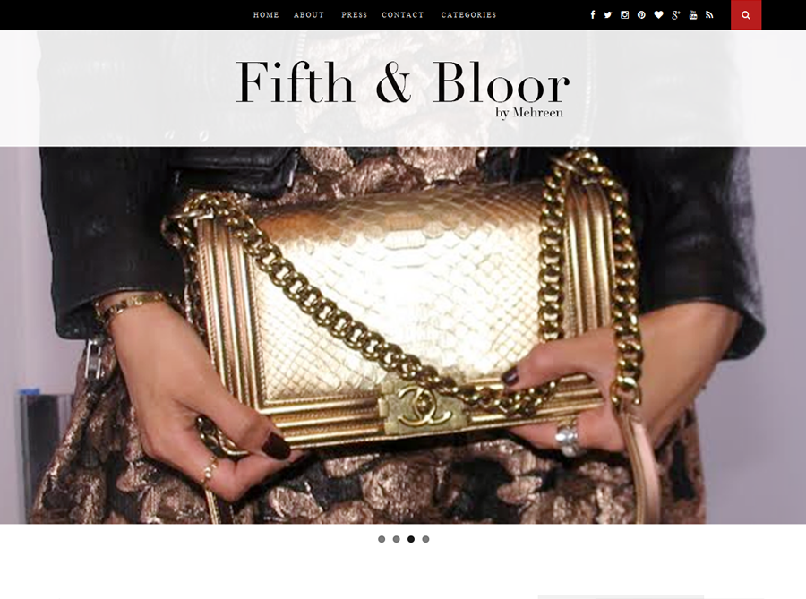 Fifth and Bloor | Custom Website Design | by Erika S.