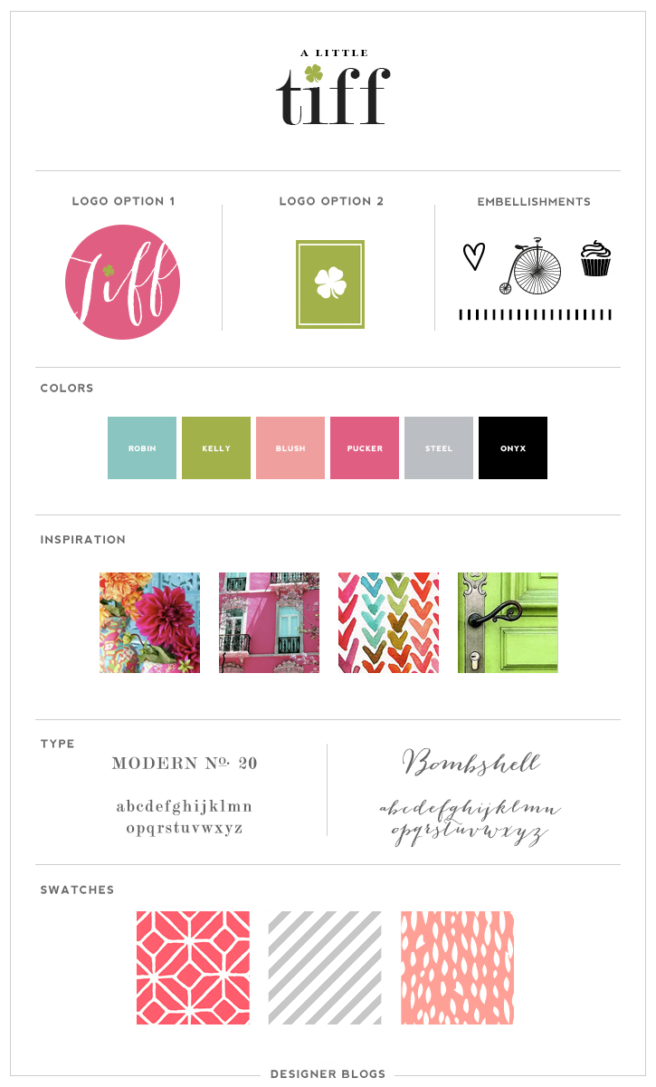 Featured Design | A Little Tiff