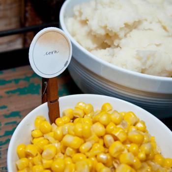 Printable | Thanksgiving Food Labels