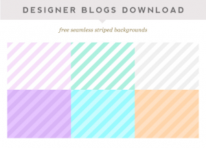 Free Seamless Striped Backgrounds