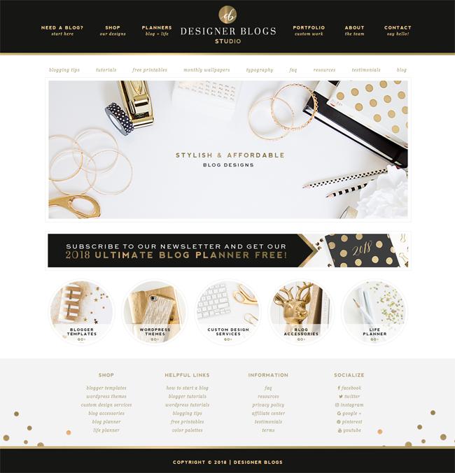 Designer Blogs Screenshot