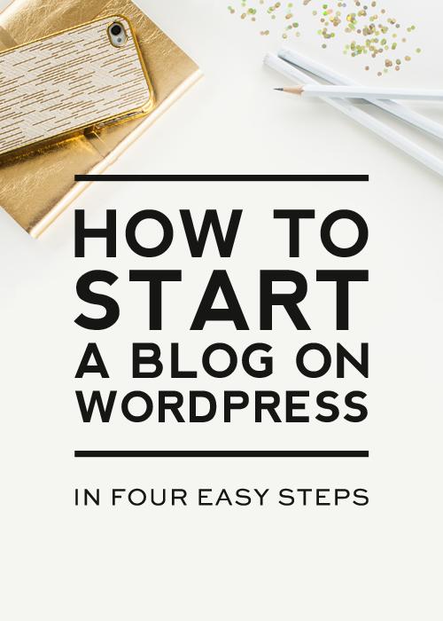 How to Start a Blog on WordPress - Designer Blogs