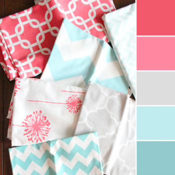 Color Love | Coral + Teal