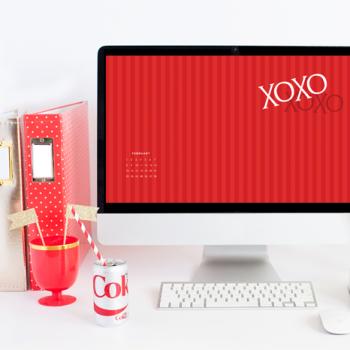 February Desktop Background