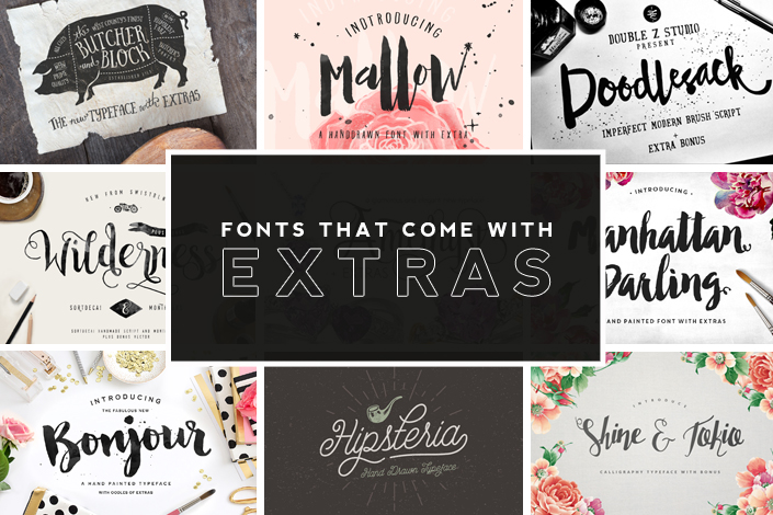 fonts-that-come-with-extras