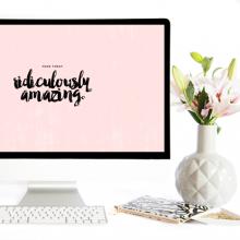 March Desktop Background