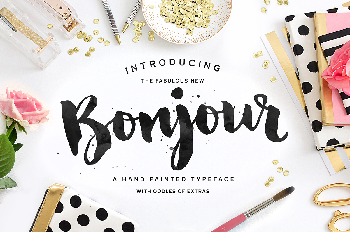 Affordable Hand Painted Typefaces