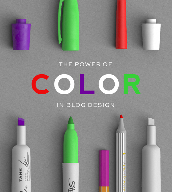 The Power of Color in Blog Design - Designer Blogs