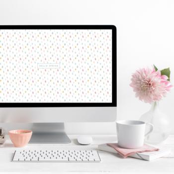 April Desktop Background