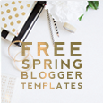 Free Spring Blogger Templates