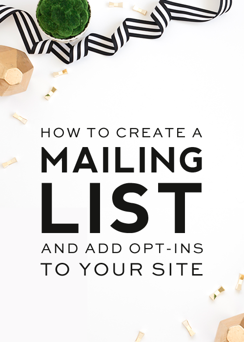 how-to-create-a-mailing-list