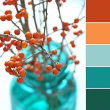 Color Love | Orange + Teal