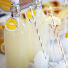 Lemonade Bar Free Printable
