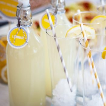 Lemonade Bar Free Printable