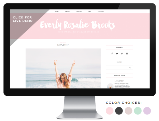 Designer Blogs premade blog themes | designerblogs
