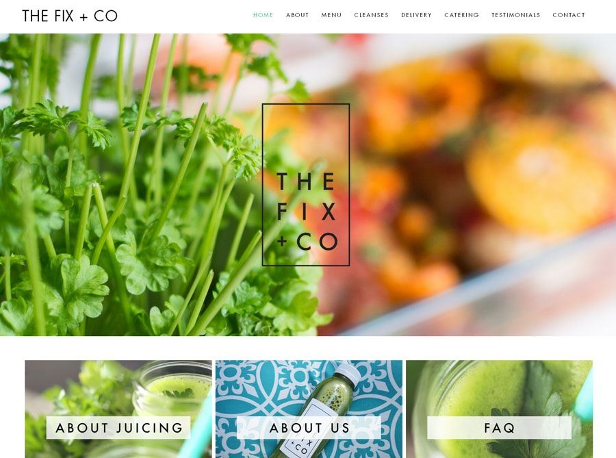 The Fix + Co | Custom Website Design | by Emily