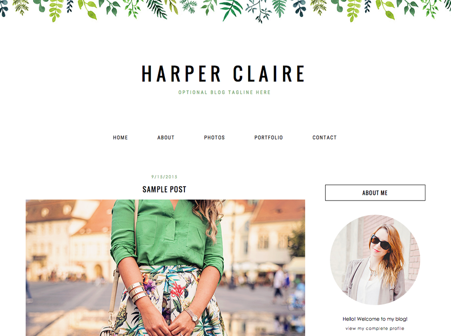 Blogger template montagne | blogger templates + wordpress themes.
