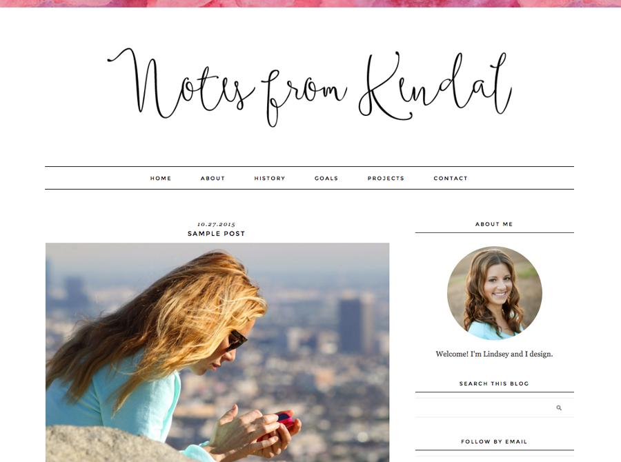 blog templates