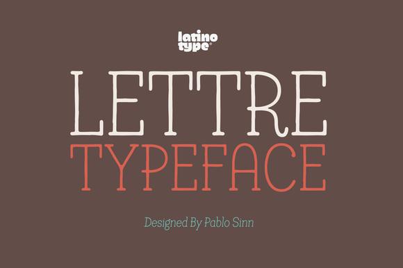 Lettre Font