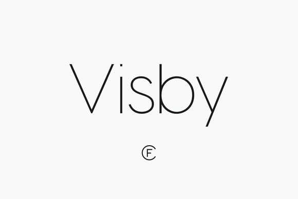 Visby Font